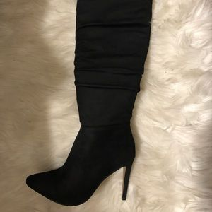 Chinese Laundry over the knee heel